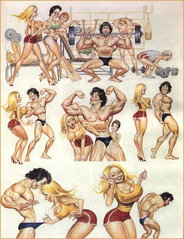 рисунки эротические комиксы