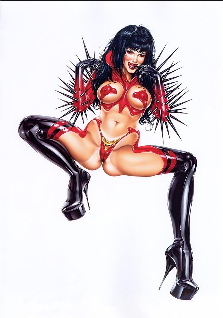 3d vampirella porn sexy comics