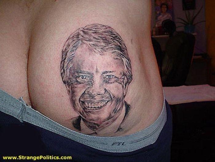 все татуировки на заднице мужские улей видео перевернул