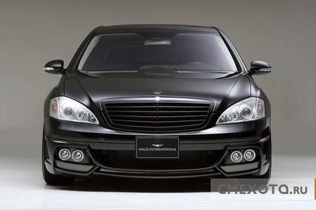 Тюнинг-кит Wald Sports Line Black Bison Edition для Mercedes S-класса (7 фото)