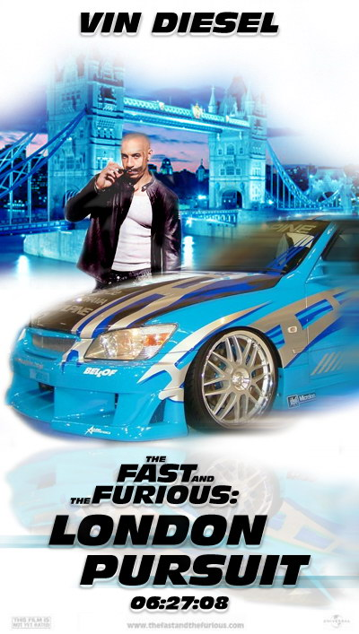 Форсаж 4 (The Fast and The Furious London Pursuit) (11 фото)