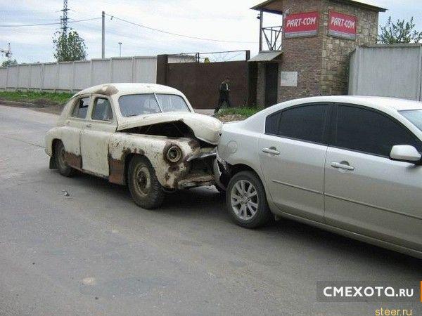 Автомобильные курьезы (39 фото)