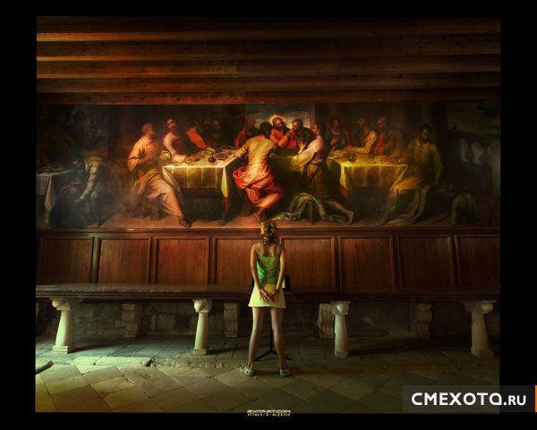 Аццкий художник Vitaly S. Alexius (50 фото)