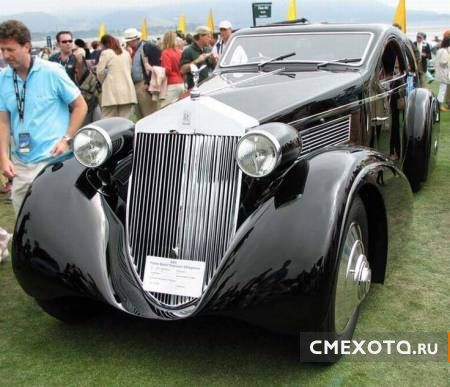 Rolls-Royce Phantom 1925 г. (9 фото)