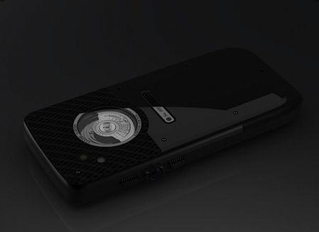 Механизированный телефон от Ulysse Nardin (7 фото)