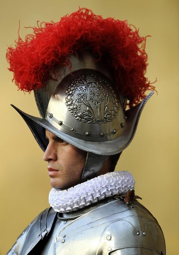 Швейцарские гвардейцы - Вооруженные сил Ватикана