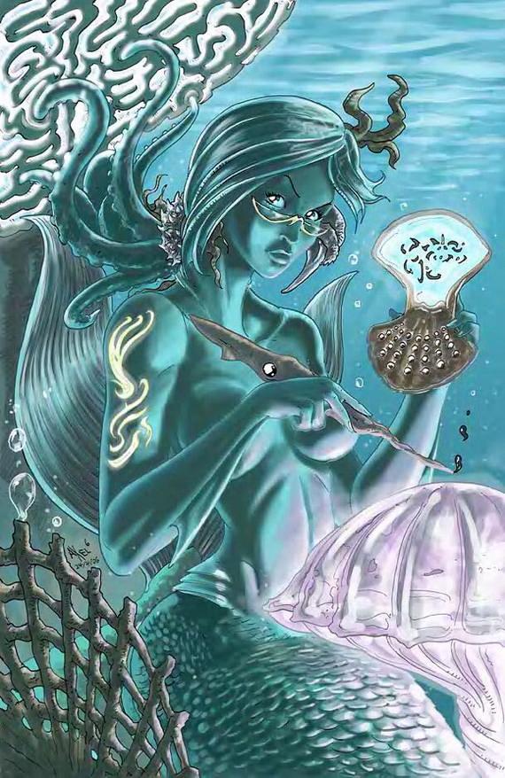 مثيرة لحوريات البحر