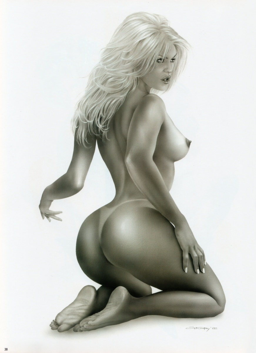 Sexy girls from comics - Erotic drawings 31 - sexy girl, really hot